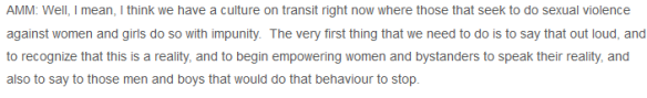 AMM on transit culture