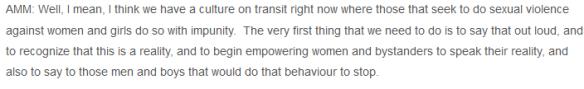AMM on transit culture